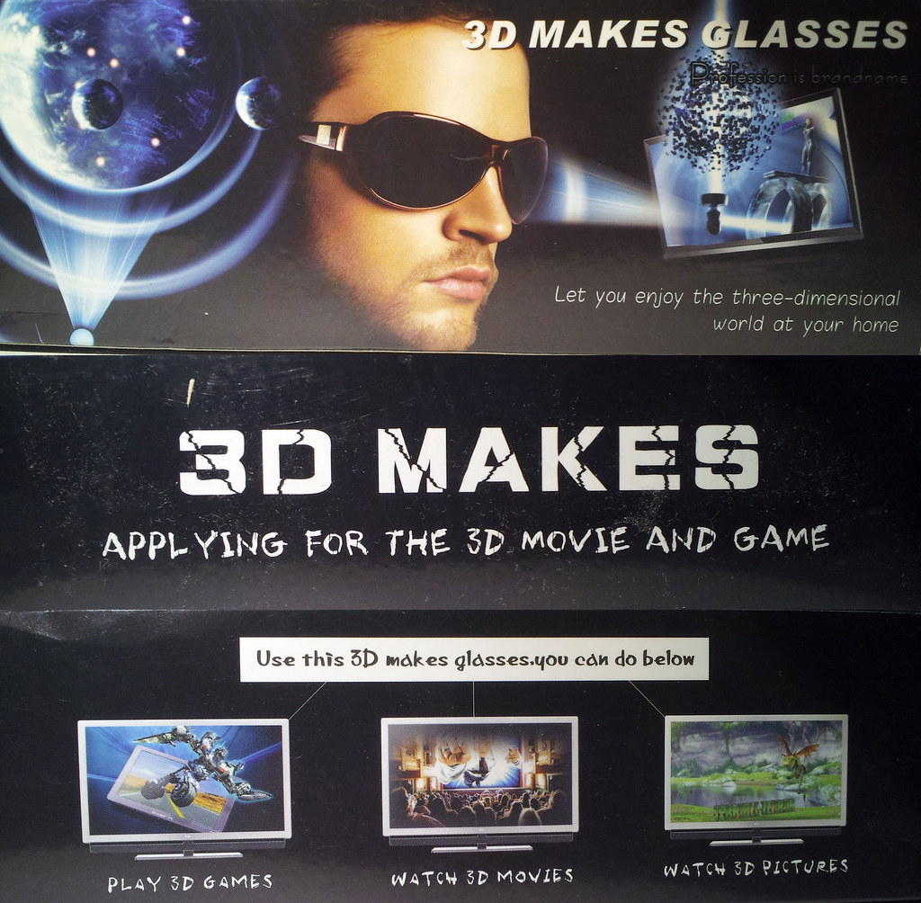 3D Makes Glasses