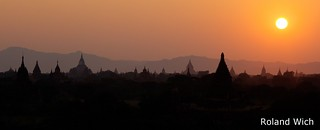 Bagan - Sunset Panorama