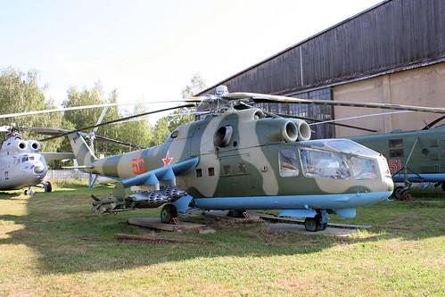 Mil Mi-24A 50 red