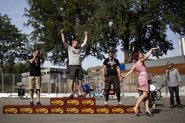 Svajerløb 2012 - Vintage Cargo Bike Champions