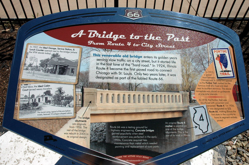 Division Street Bridge, Pontiac, IL