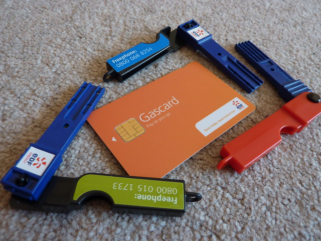 Gas And Electric: Key Card Gas And Electric