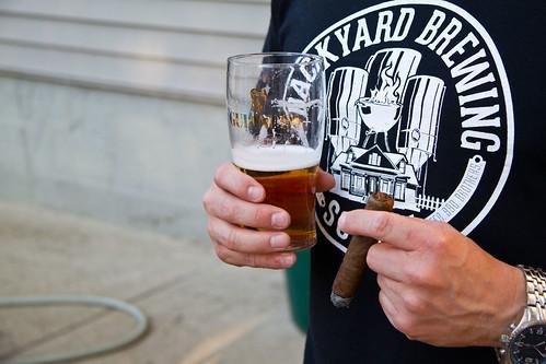 Beer & Cigar