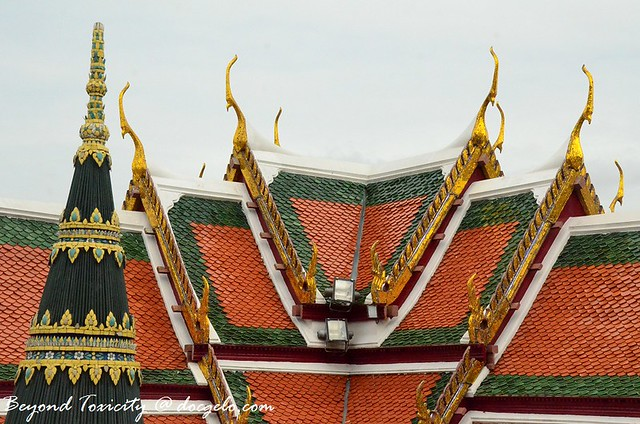roof grand palace bangkok