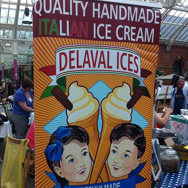 Italian ice cream Tynemouth