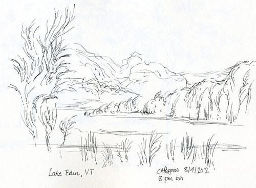 8-4-12, Lake Eden, VT