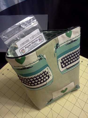 Zipper Pouch for EPP Supplies
