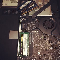Just upgraded the RAM in Angels MacBook Pro.