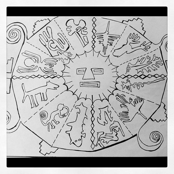 Inca calendar I drew and am currently