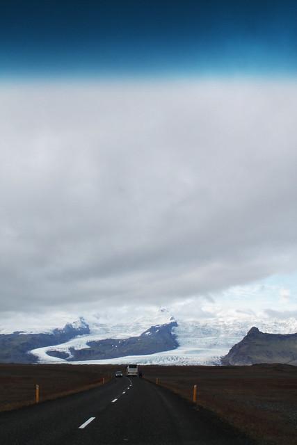 Primeras vistas del VatnaJökull