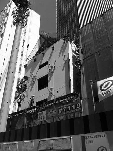 歌舞伎座工事中 '12/08/21・23