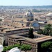 Viewing churches from the top of Il Vittoriano