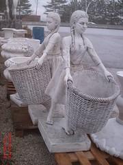 Sepetli Kız Heykeli (En:50Boy:90Yüks:154Ağr:270)