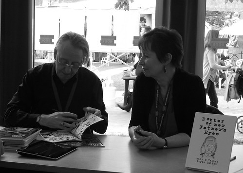 Edinburgh Book Festival 2012 - Bryan and Mary Talbot