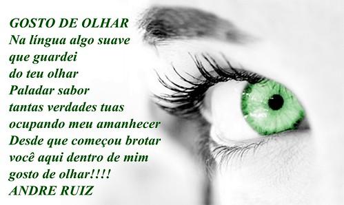 GOSTO DE OLHAR by amigos do poeta
