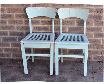 Mint Chairs