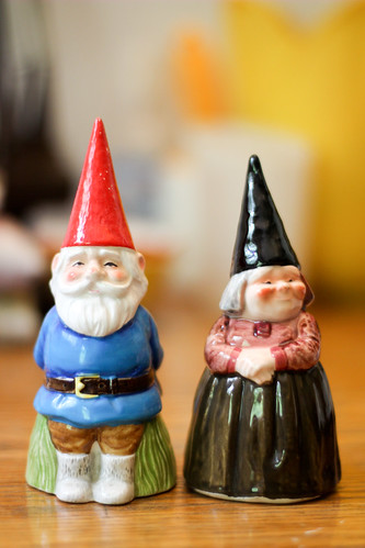 Vintage Gnome Bells by Jeni Baker