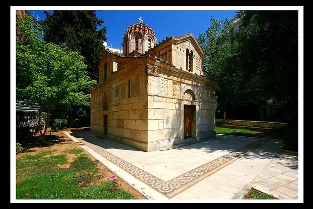 Panagia Gorgoepikoos (Agios Eleftherios) [XIIe]- Athènes
