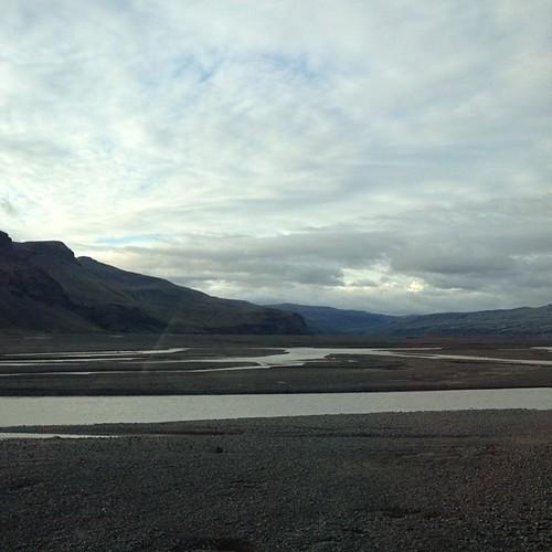 Los sandar, otra maravilla de la naturaleza con nombre islandés. No he conseguido captar su inmensidad y desolación #iceland #islandia #tripiniceland