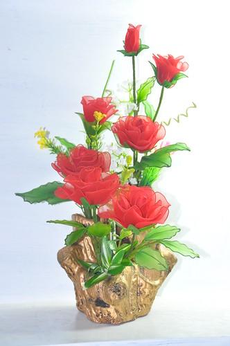 Toàn Quốc - Bán hoa bằng Voan các loại, hoa Voan đẹp, hoa Voan quà ...