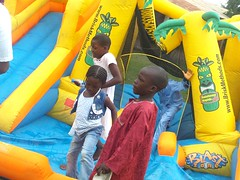 Birthday Carnival of Tosin Allen's birthday with the children