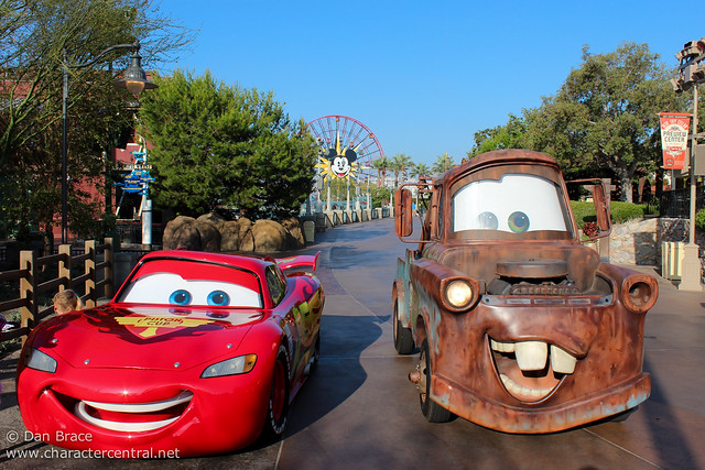 Enjoying morning EMH in Cars Land before the masses arrive!