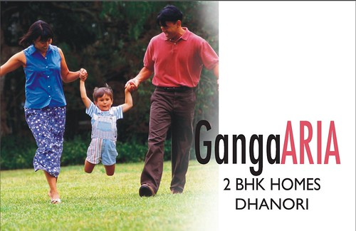 Ganga Aria 2 BHK Homes in Tingrenagar Road, Dhanori, Pune 411015 by jungle_concrete