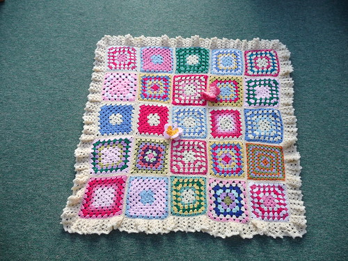 Thanks to everyone for contributing squares for this blanket.