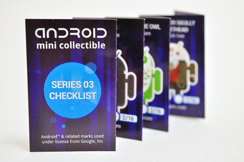 Android MIni Collectible Seriess 03 Checklist