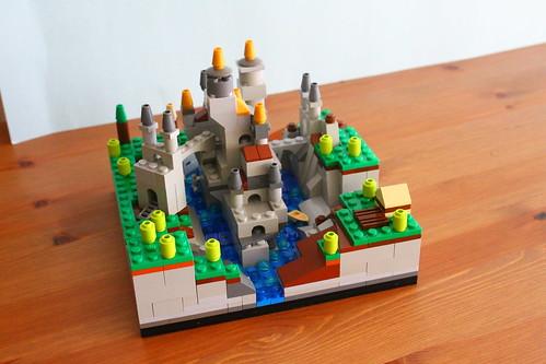 Microscale Fortress Landscape