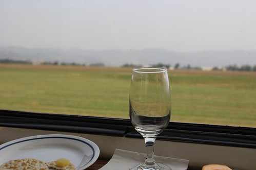 Pacific Parlour Car wine tasting