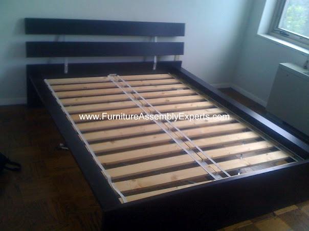 Ikea hopen bed frames assembly service in baltimore md flickr photo sharing - Ikea black platform bed ...