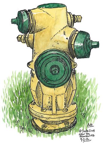 Santa Cruz Hydrant
