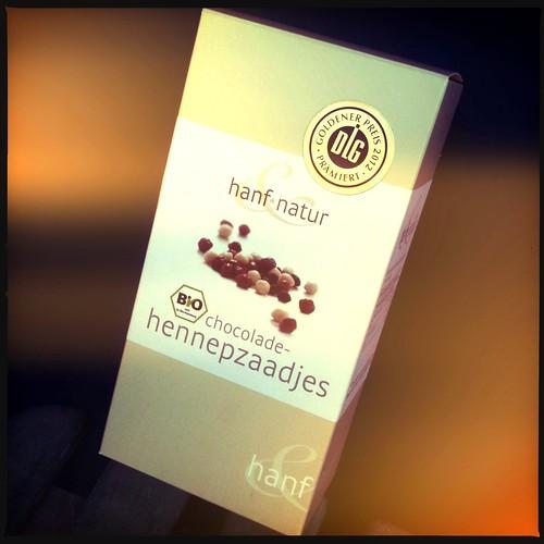 Chocolade-hennepzaadjes