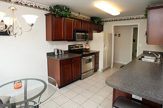Kitchen with stainless steel appliances at 5214 Craigs Creek Drive