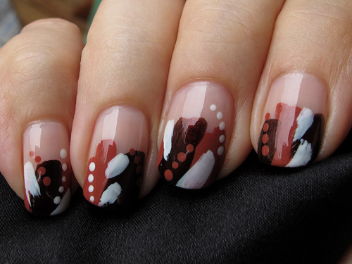 """Cave paintings by a blind man"" -manicure >_<"