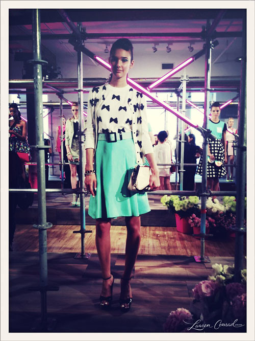 bows from the Kate Spade Spring 2013 collection