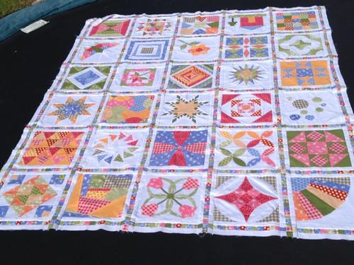 Skill builder Sampler quilt