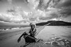 portrait of a man on the beach of the island of Socotra, yemen by anthony pappone photographer