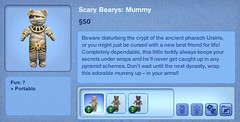 Scary Bearys - Mummy
