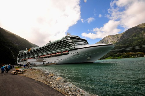 Ventura Cruise Ship - P&O - Norway 2012 by Paolo Camera