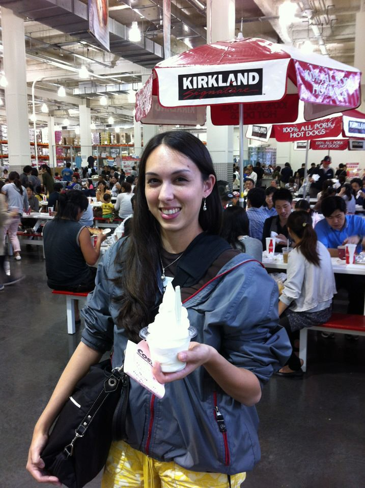 Allison in Costco