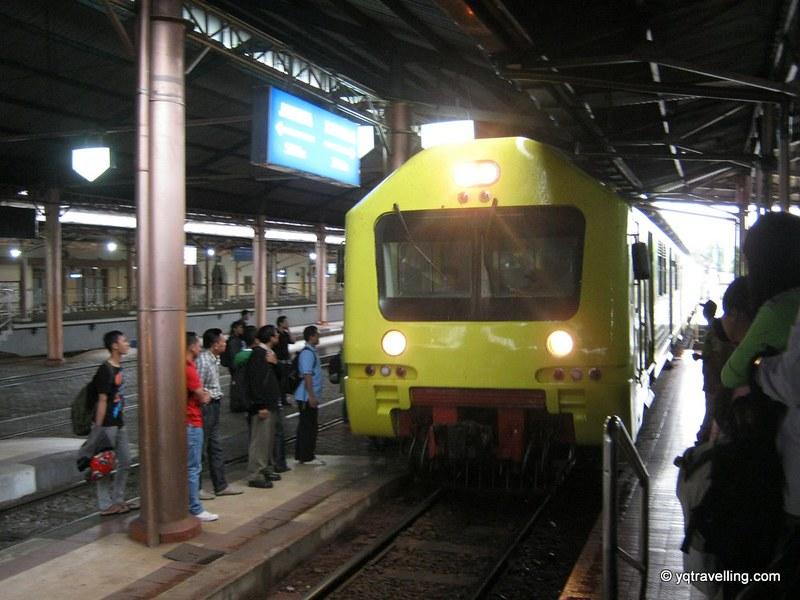 Train in Yogyakarta