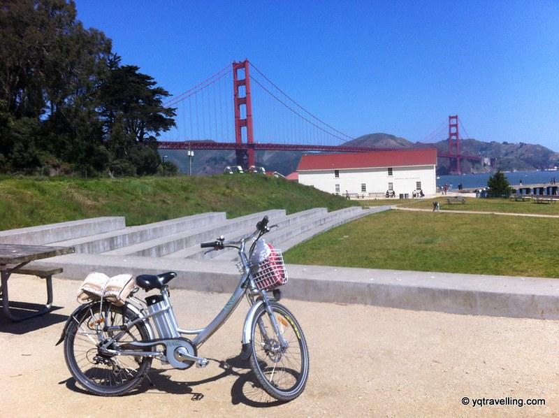 Biking in San Francisco
