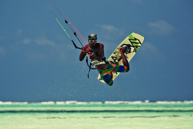 Kitesurfing In Paje