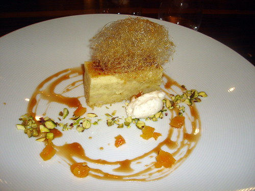 White Chocolate Bread Pudding Creme Brulee