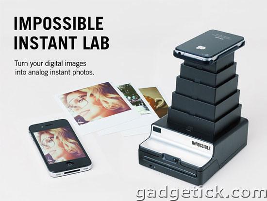 Instant Lab полароид приставка для iPhone