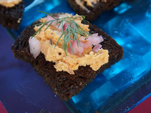 Crostini from Metro Cuisine Catering