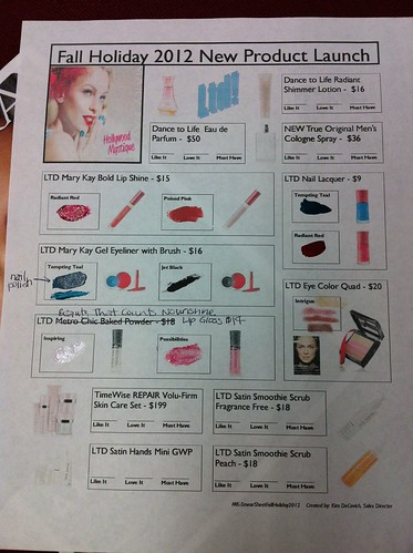 Mary Kay 2012 Fall & Holiday new products by crochet_chick