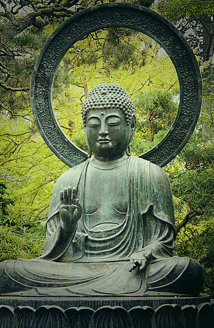 Buddha at the Japanese Tea Garden